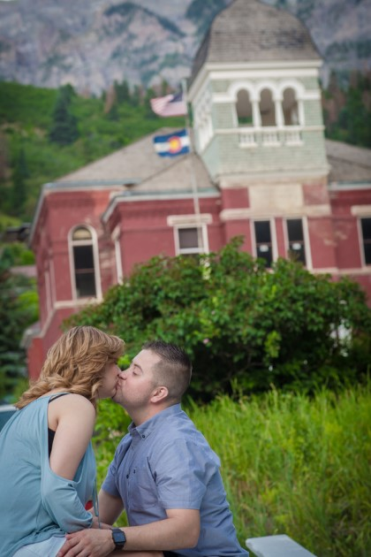 Brenda + Eric: Colorado Engagement Photography in Ouray | Image: Fizelwink Photography, LLC
