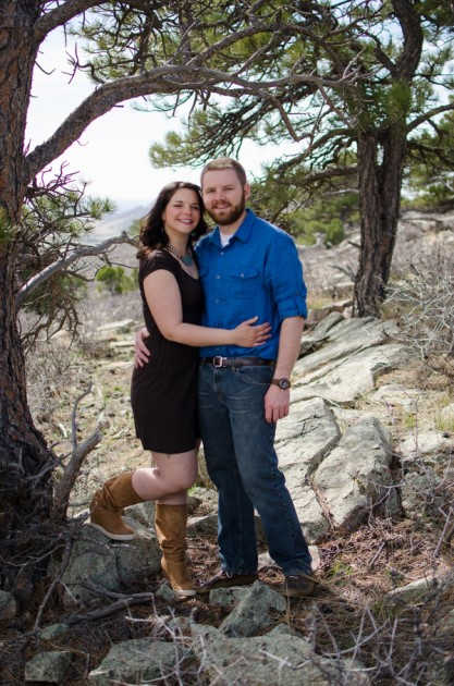 Kira + David: Colorado Engagement Photography in Fort Collins | Image: Galles Photography
