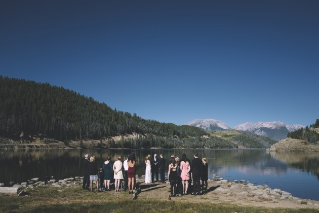 Adrienne + Josh: Lake Dillon Wedding in Summit County, Colorado | Image: Meredith Moran Photography