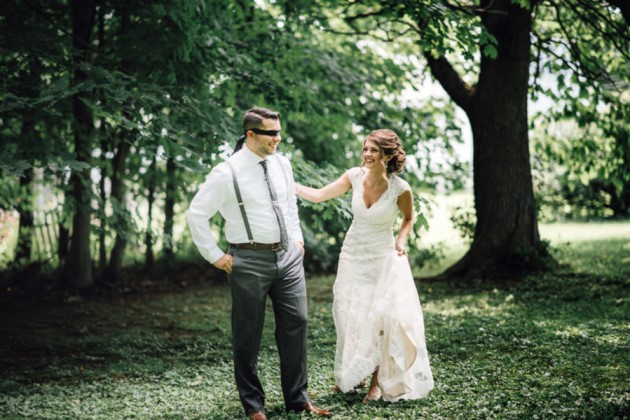 Lindsey + Matt: New England Barn Wedding at the Salem Cross Inn | Image: Twisted Oaks Studio