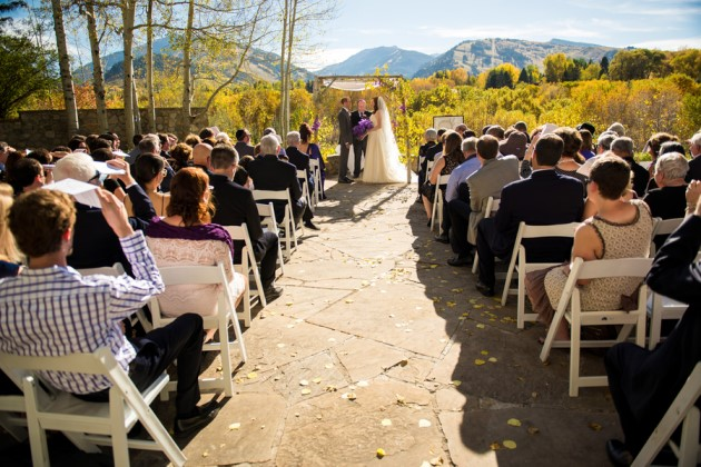 Tai + Stephen: Fall Wedding in Aspen, Colorado | Image: J. La Plante Photo
