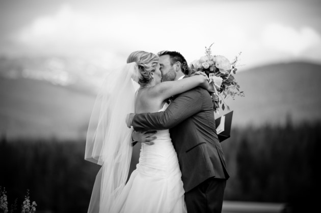 Mandy + Ben: Breckenridge, Colorado Wedding at Ten Mile Station | Image: Ardent Photography