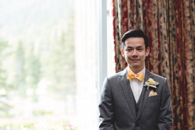 Christina + Bosco: Destination Wedding at Lake Louise, Alberta | Image: ENV Photography