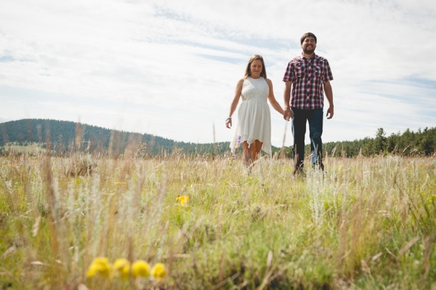 Dana + Rob: Engagement Photography in Breckenridge, Colorado | Image: Ashleigh Miller Photography