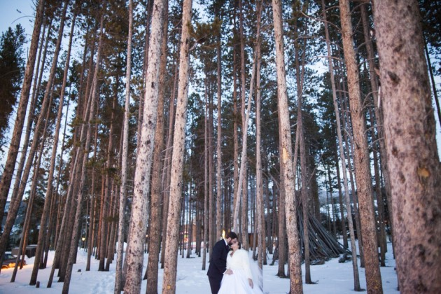 Kelsey + Matt: Breckenridge Winter Wedding at the Double Tree | Image: Katie Keighin Photography
