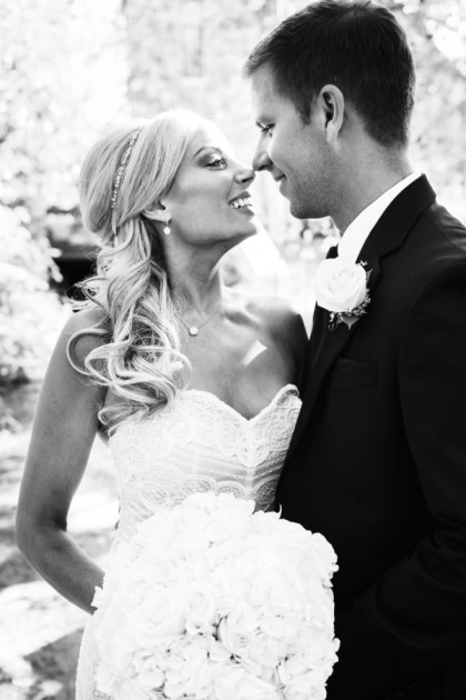 Alexandra + Scott: Colorado Chapel Wedding at Beaver Creek Club | Image: Nicole Lenzen Photography