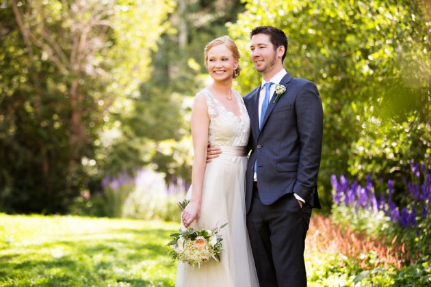 Laura + Sam: Beaver Creek Colorado Wedding at Saddle Ridge | Image: Frances Photography