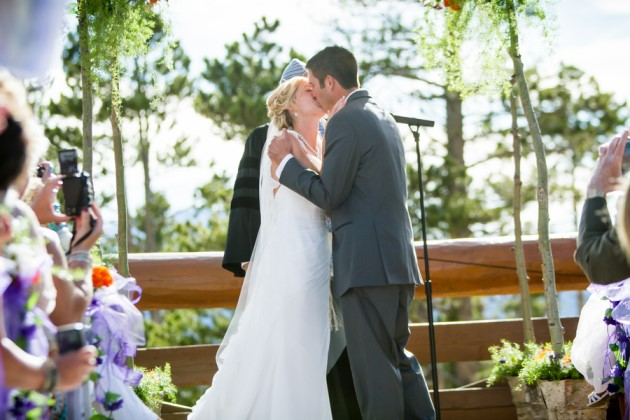 Juliana + Derrick: Winter Park Wedding at the Lodge at Sunspot | Image: Corrie B Photography LLC