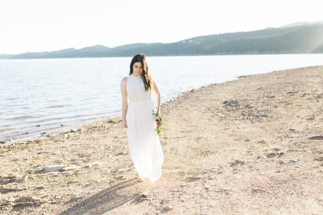 Crystal + Javier: Styled Couple Shoot at Carter Lake, Colorado