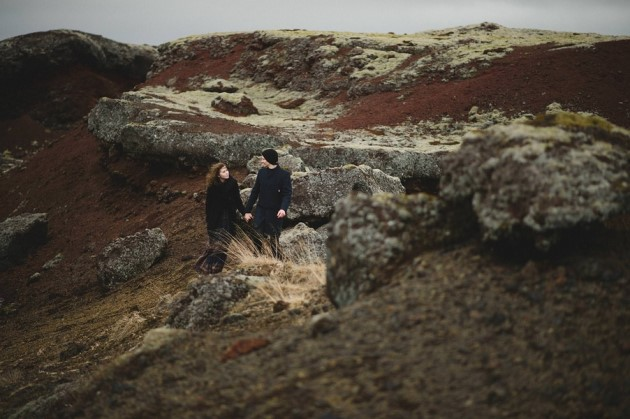 Svala + Johanh: Iceland Engagement Photography in Reykjavik | Image: Sotiris Tsakanikas Photography
