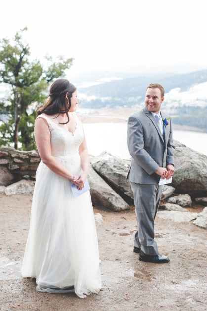 Allyn + Jake: Breckenridge, Colorado Elopement at Sapphire Point | Image: Keeping Composure Photography