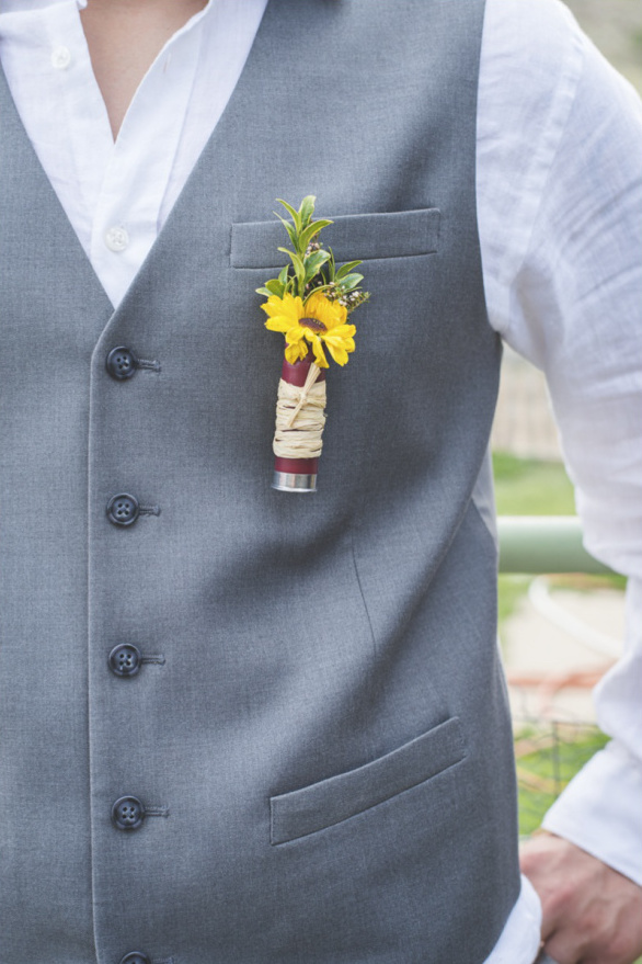country boutonniere