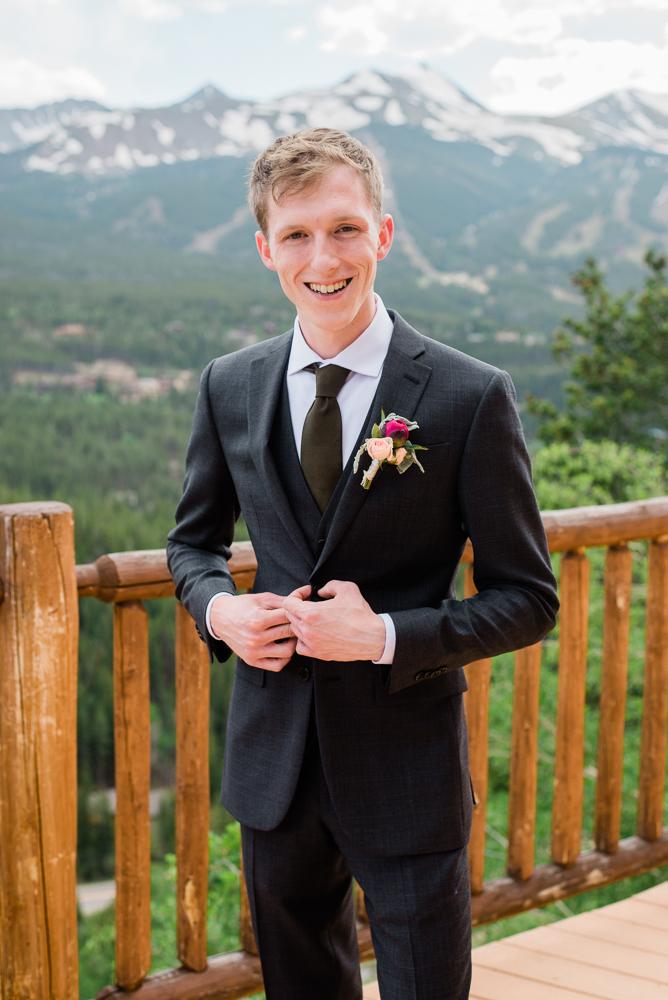 colorado groom lodge at breckenridge elopement