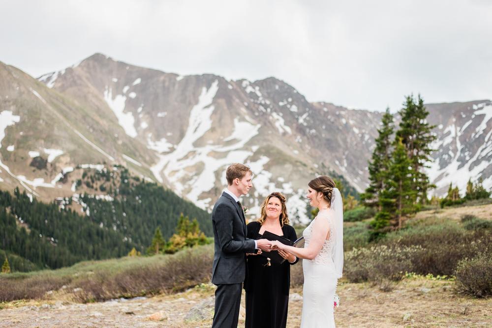 mountain elopement in colorado