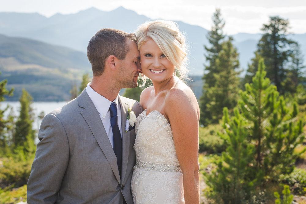 peak one lake dillon wedding