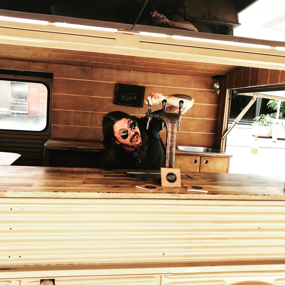 Dave Grohl in the VAN