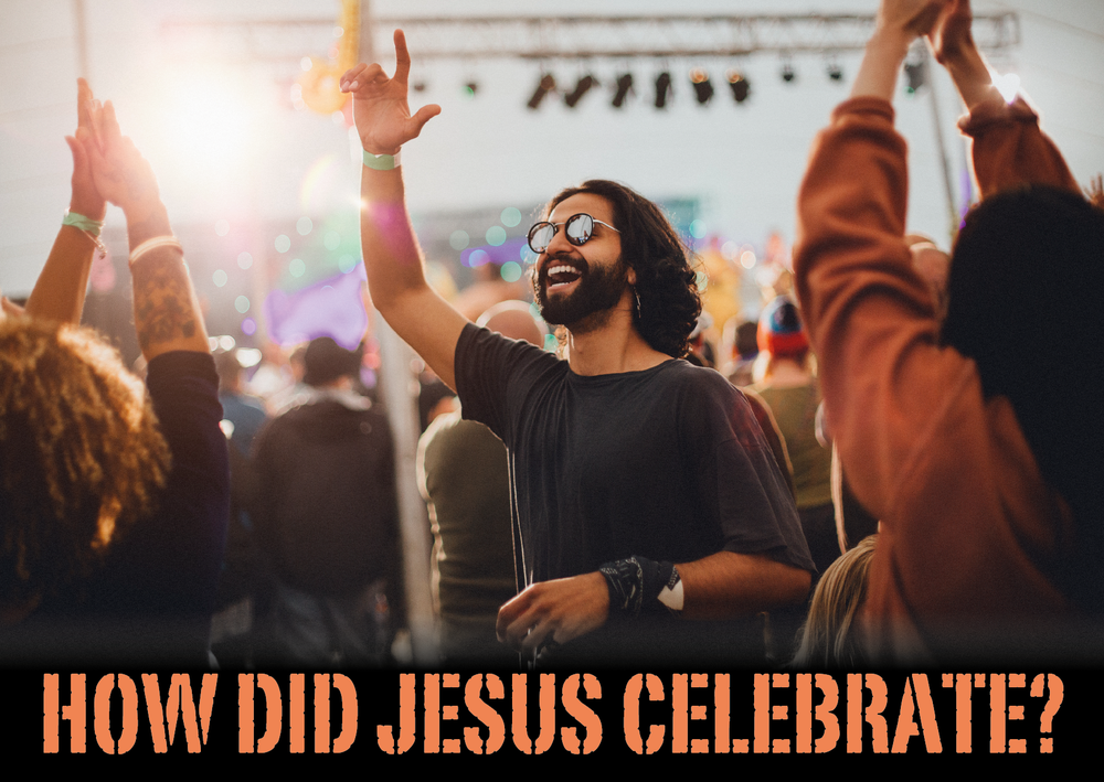How did Jesus celebrate with Sam Chan