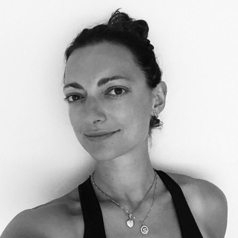 Sarah Andrijcich   Sarah first found Ashtanga yoga at the age of 18, following years of training in Classical Ballet and Contemporary Dance. It wasn't until she walked into her first vinyasa class, years later, that she found a new form of expression.   Read more...