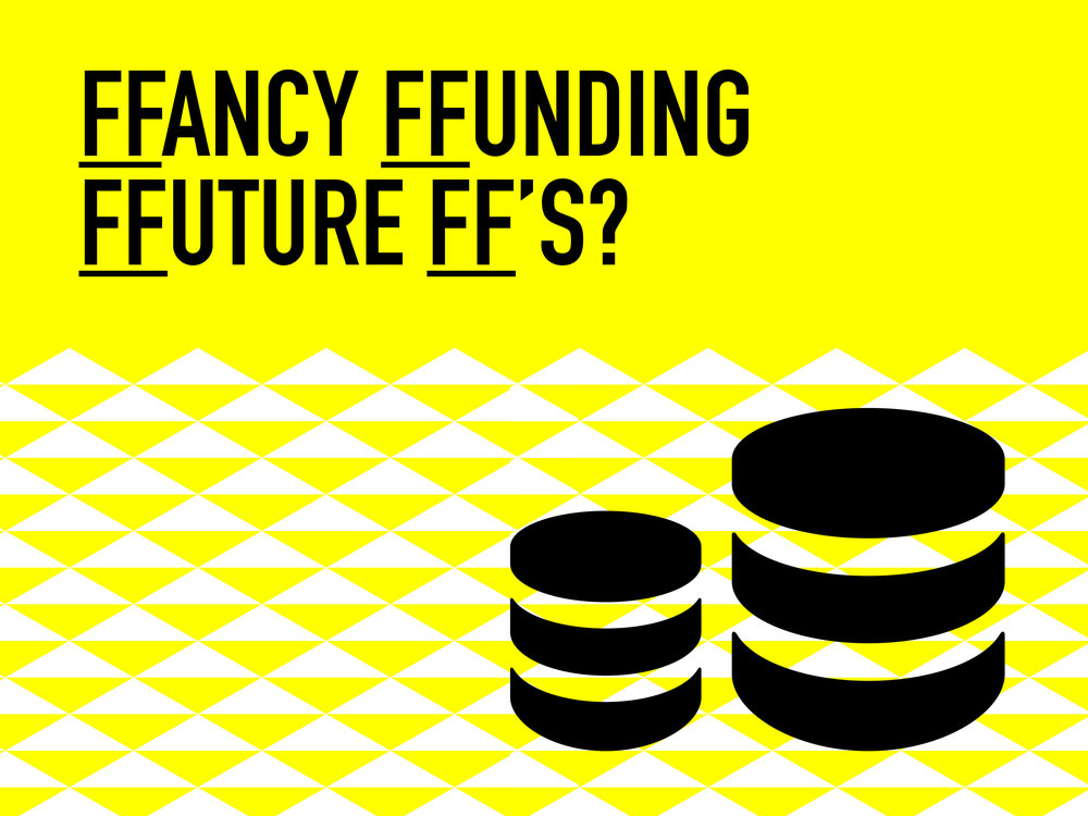 FFunding FF FFuture - We the FFounders of FF work hard at our project, however its 80% funded. 10% comes from ticket sales at 10% comes from our fee on the night. We currently have all our FFeatures giving their time for FFree. We know we have a concept that can have a FFee and pay for peoples valuable time. But we can't do this without FFunding. Applying for funding takes time and you have to be selective as to what you applying for. As most council/government funding will only allow you access to one pot so you have to be really smart what that pot looks like. Our vision is to take FF into schools, colleges, corporate events, create a creative hub in forest hill and provide jobs for young people. If you have any ideas on how we make our vision possible we'd love to hear from you. Email us at featuredfifteen@gmail.com