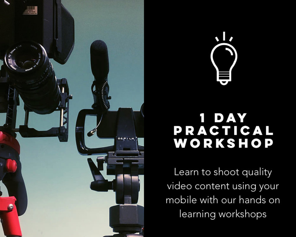 Go film it - Practical filming workshops and company training along with bespoke business film production services