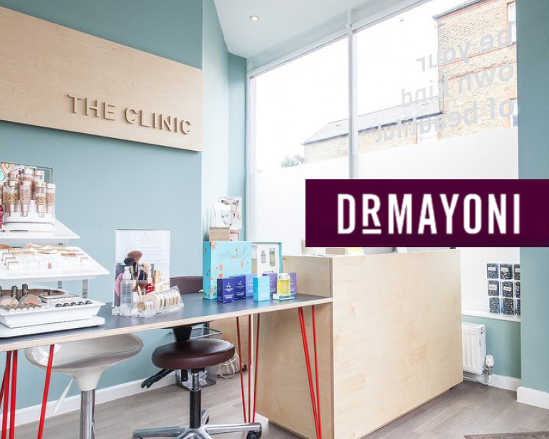 The clinic - OPEN every Sunday in December for beauty appointments and gift purchases.43 Honor Oak ParkLondonSE23 1DZ