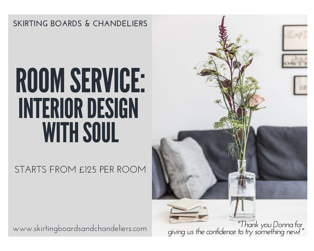 Skirting boards and Chandeliers - Interior design services starting from £125.00 per room