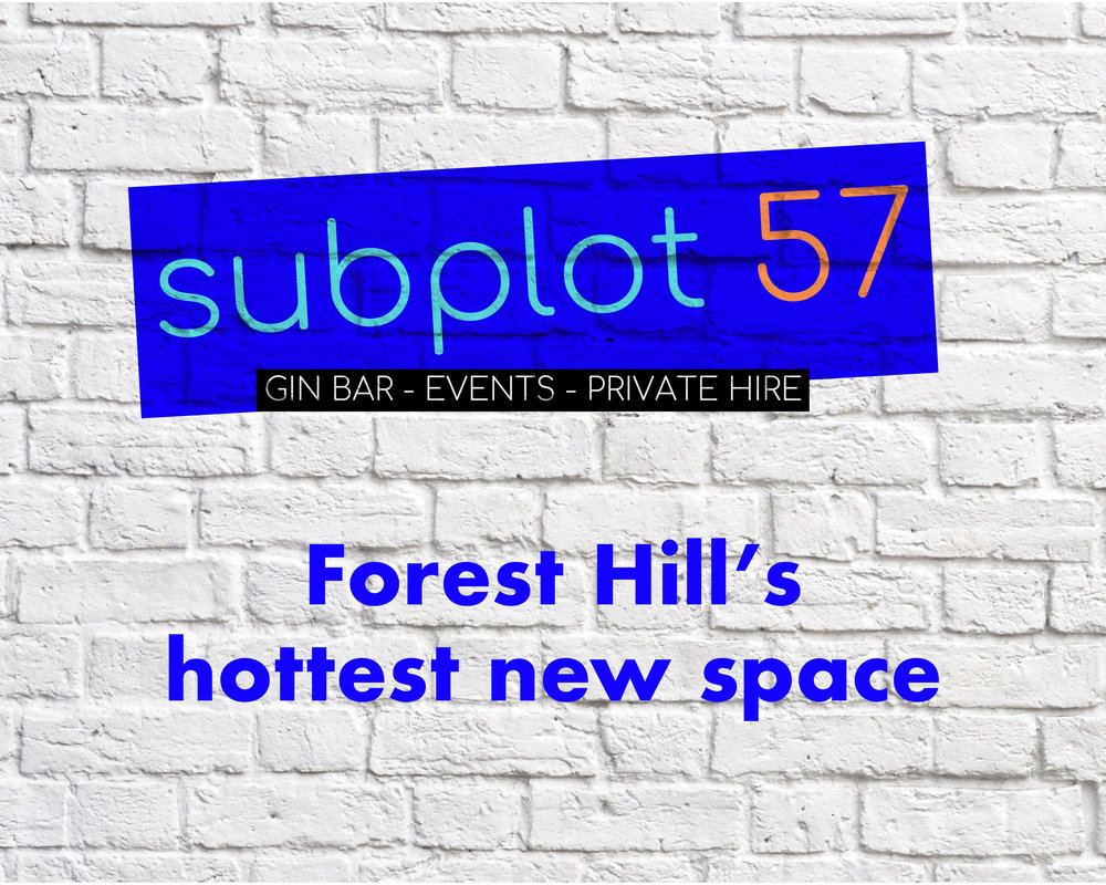 Events and Private Hire - Hidden beneath Leaf and Groove on Dartmouth Road, Subplot 57 has loads going on. From Philosophy nights and Book Launches to Gin nights; from Event Space and Harmonica classes to Gin nights. Subplot 57 is available to hire, with or without staffed bar, during the day for meetings, classes or workspace and in the evenings for social events, group activities and bijou parties.