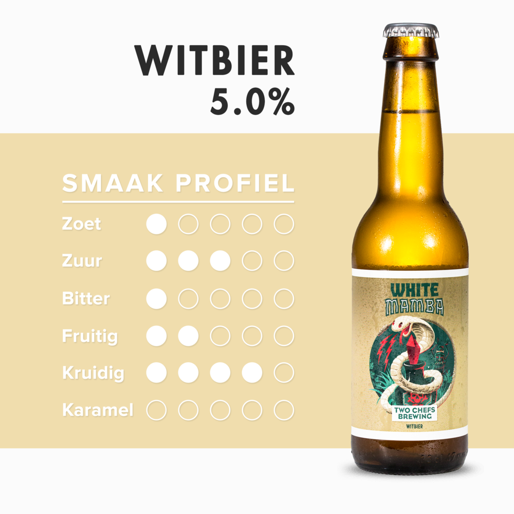 White Mamba - witbier door Two Chefs