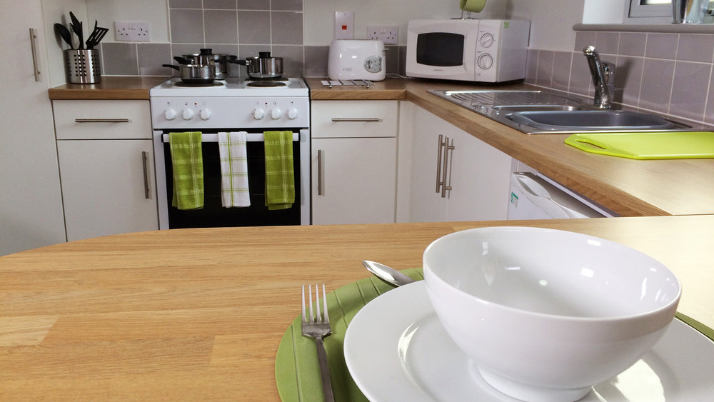 Kitchen in Rosedale Court