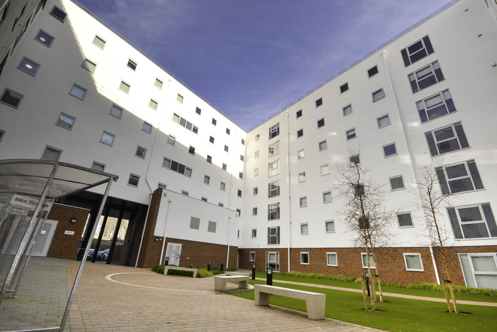 Rosedale Court Courtyard