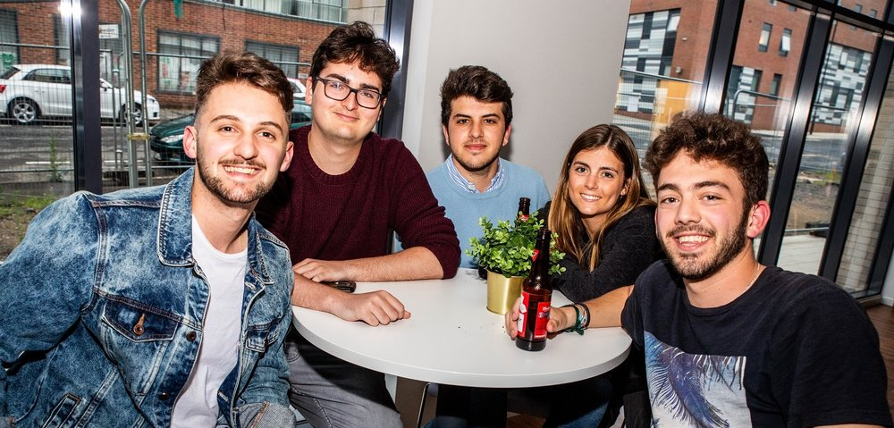 Live with friends - We offer shared flats of 4-7 rooms, so choosing to live at Portland Green is easy, whether you want to share a flat with friends or book a room individually