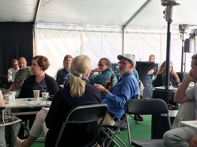 Diskussioner under Almedalens sista seminarium om Sveriges digitala resa. Vart tar den oss? #digidalen2017 #almedalen