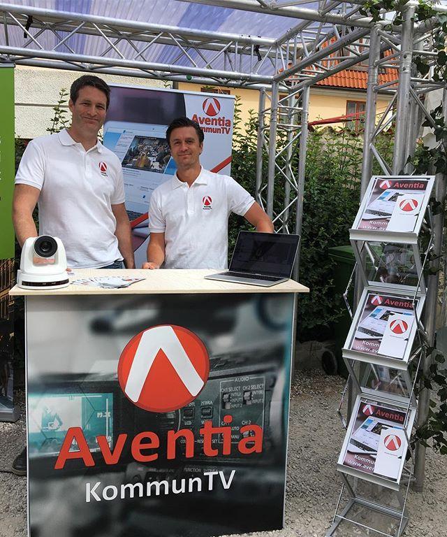 Kom och hälsa på #Aventia KommunTV i #digidalen 🖥🖥🖥🖥