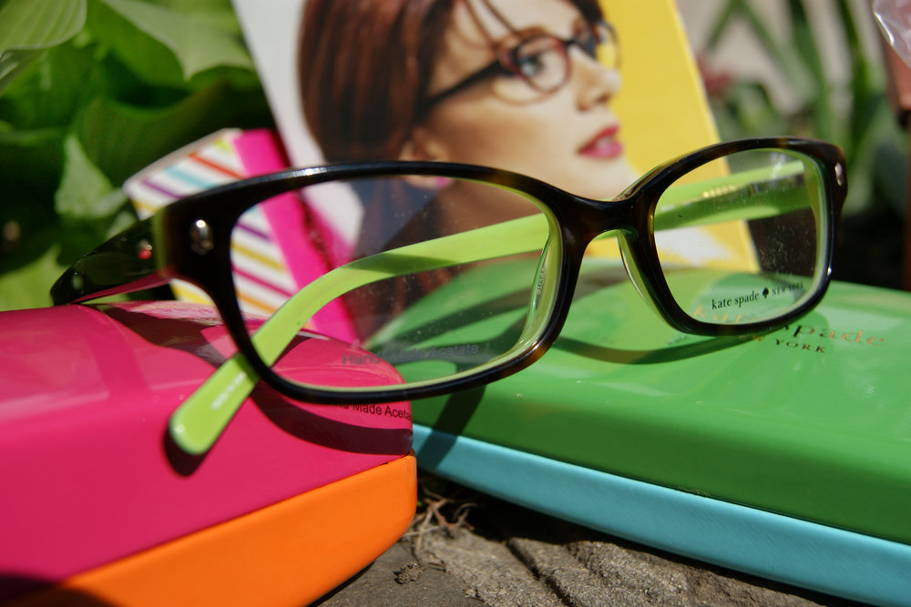 Come in and see our brand new range of Kate Spade glasses and sunglasses which have just arrived in store.