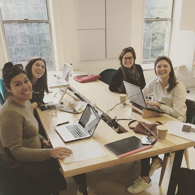 Community Centre members @robi.thatcher @milaproudfoot  happily working from @perch.offices this morning. If you're searching for office space, come try it out for free this week. Quote Community Centre at the door - you have to come check it out and see for yourselves how beautiful it is.