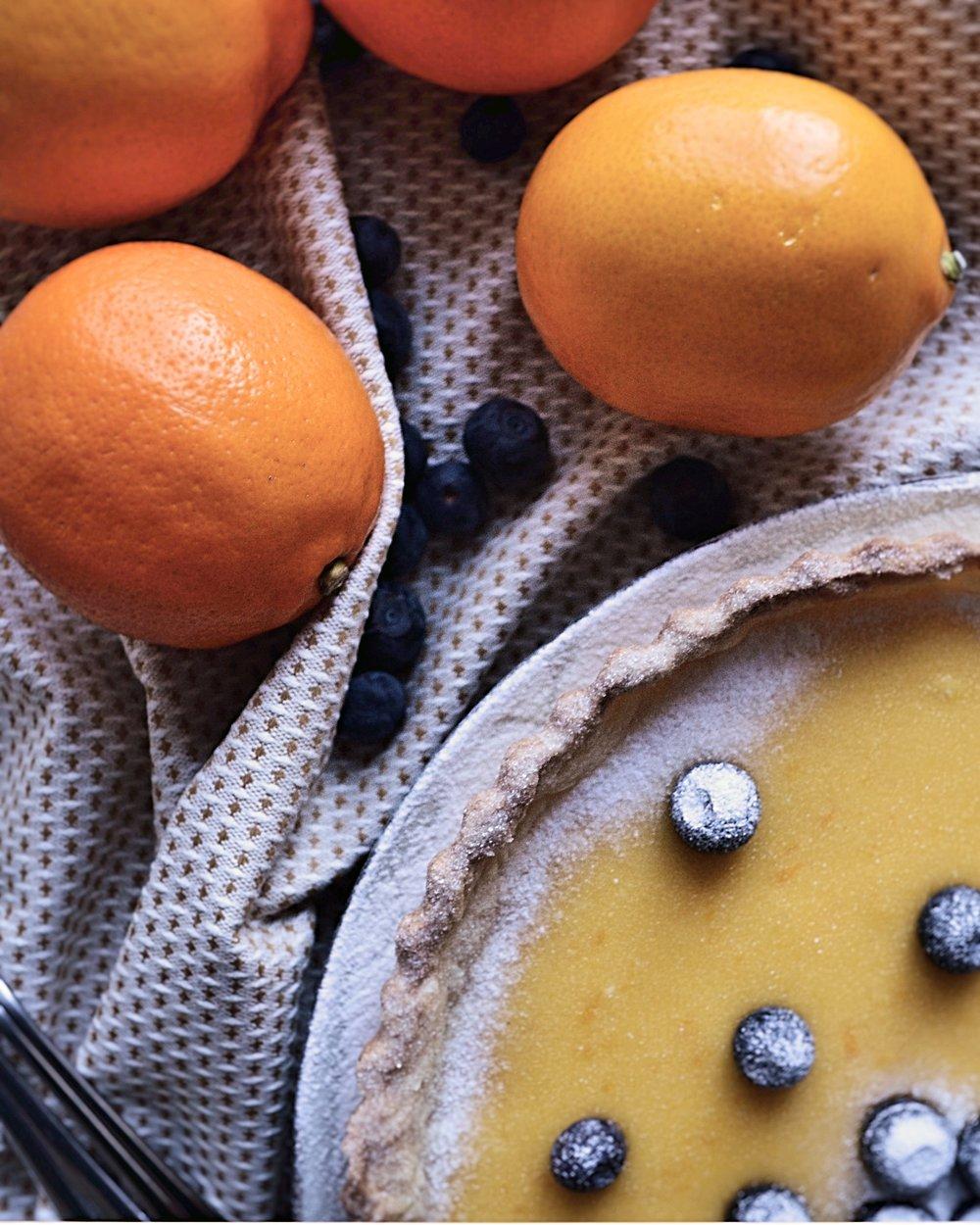 Лек тарт с майер лимони -