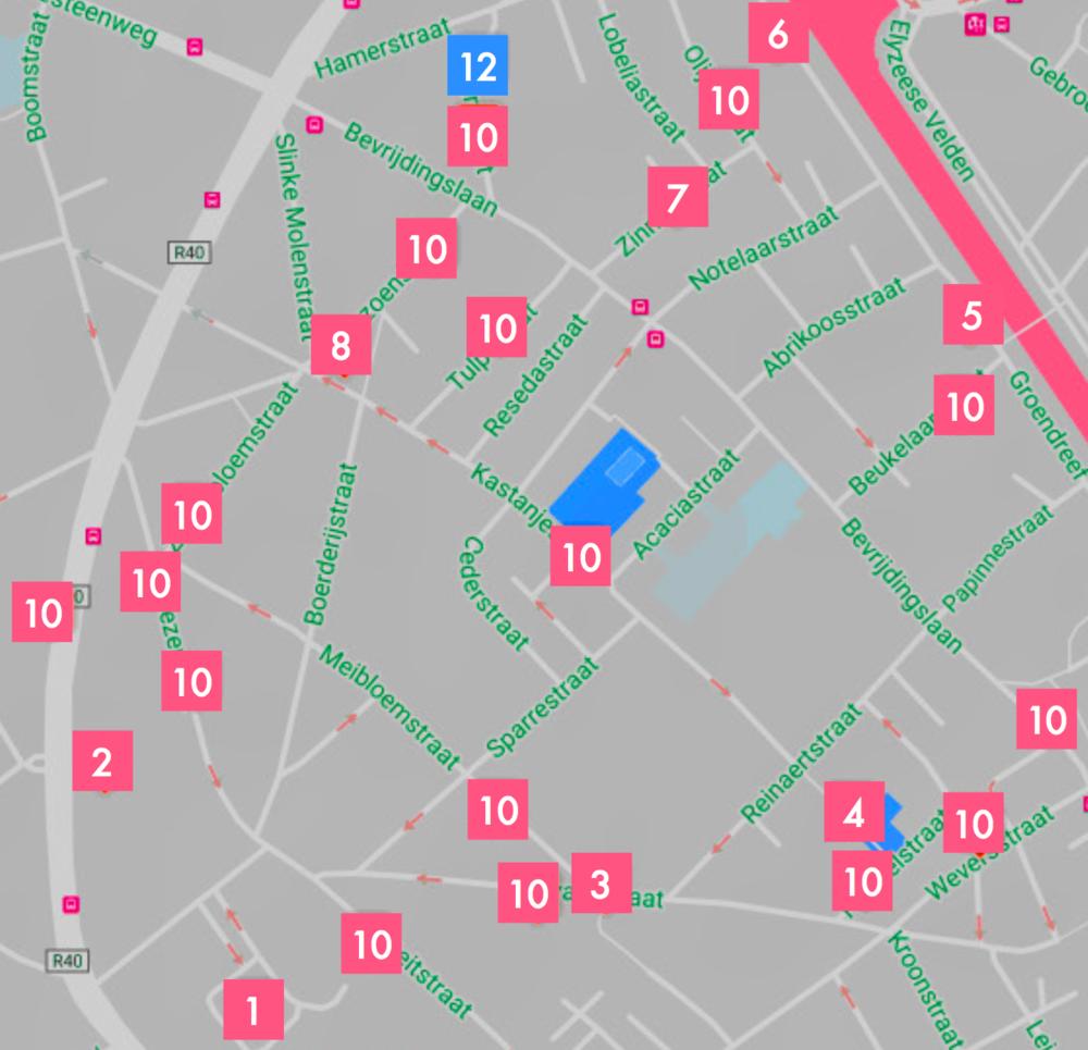klik - om de map te bekijken