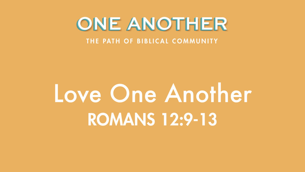 One Another (Series) — Sermons Podcast — Midlands Church