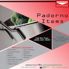 Paderno Items