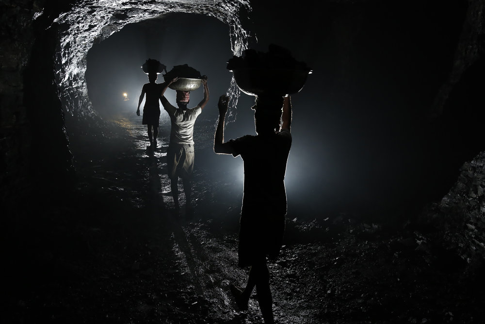 Underground Coal Bojharis, Eastern India, 2013