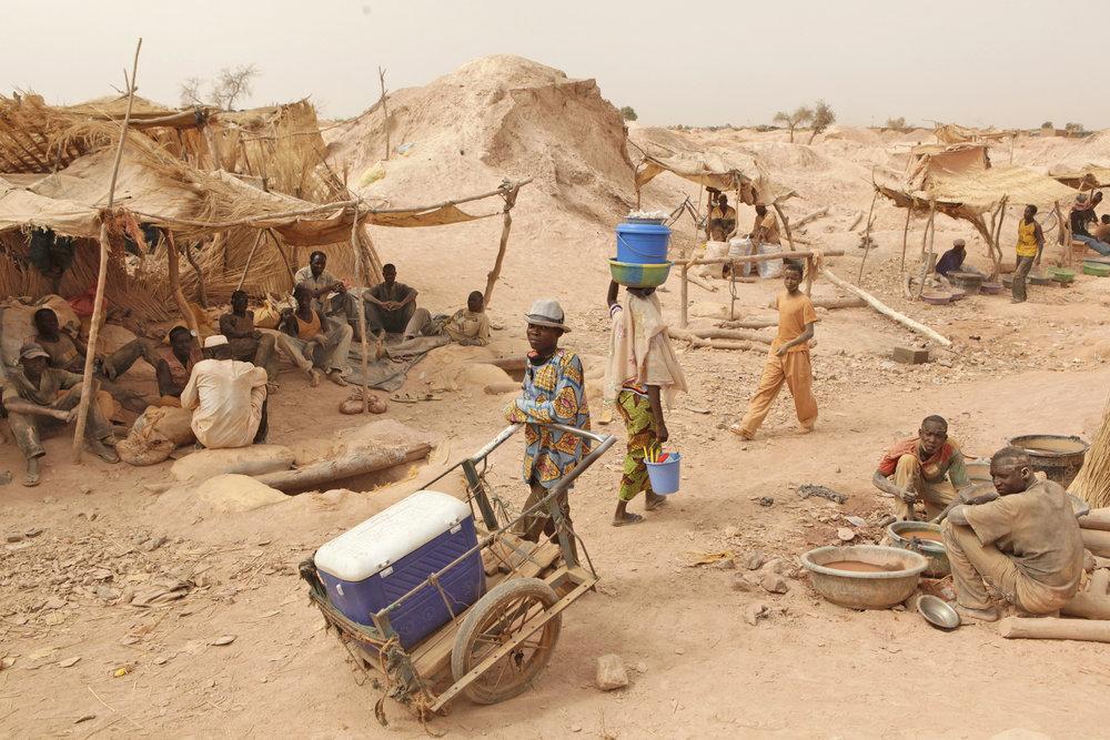 Mining Village, Burkina Faso, 2010