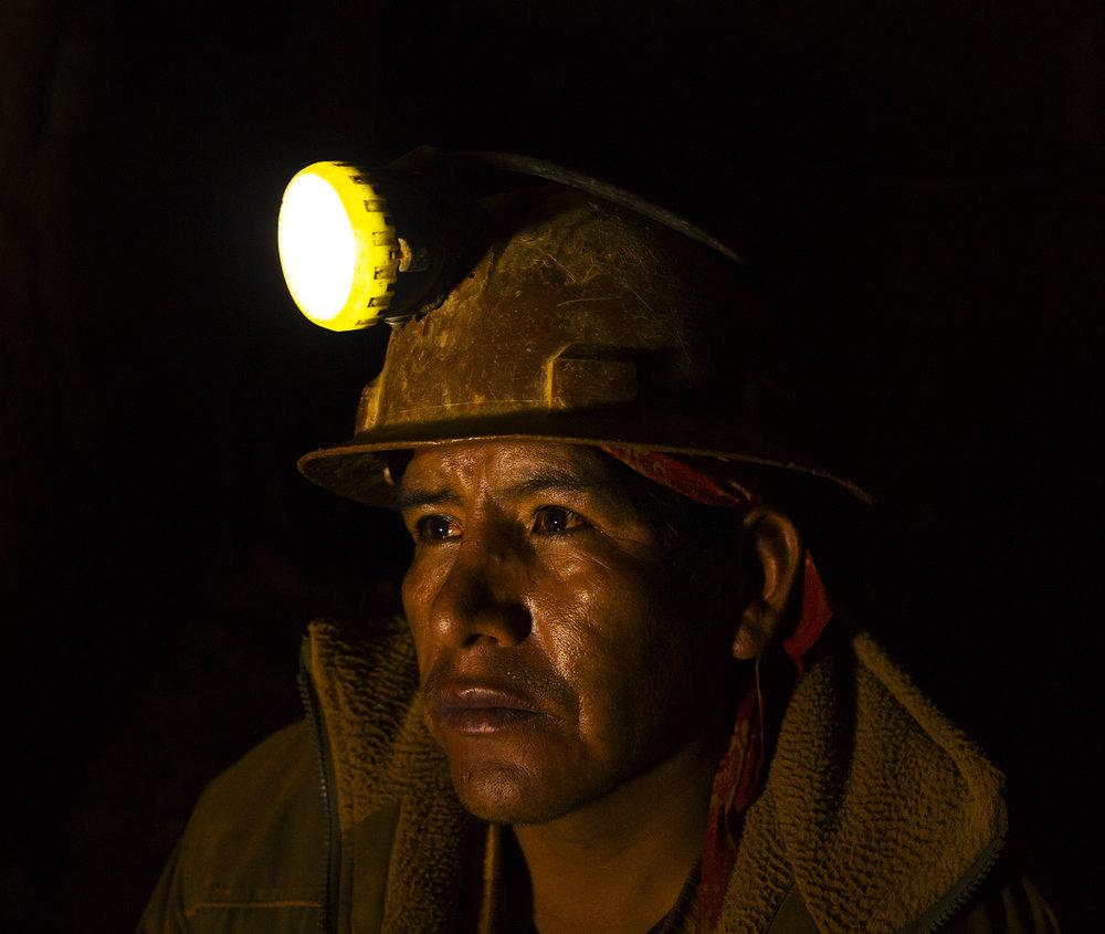 Silver Miner, Cerro Rico, Bolivia, 2016