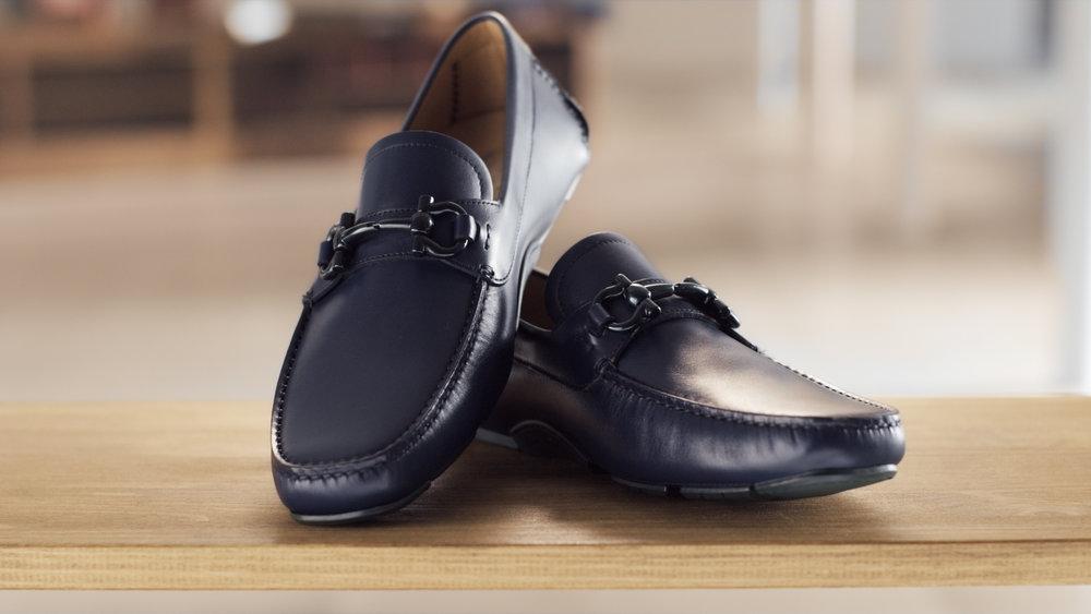 """Salvatore Ferragamo """"Driver"""" shoe and the Artisan"""
