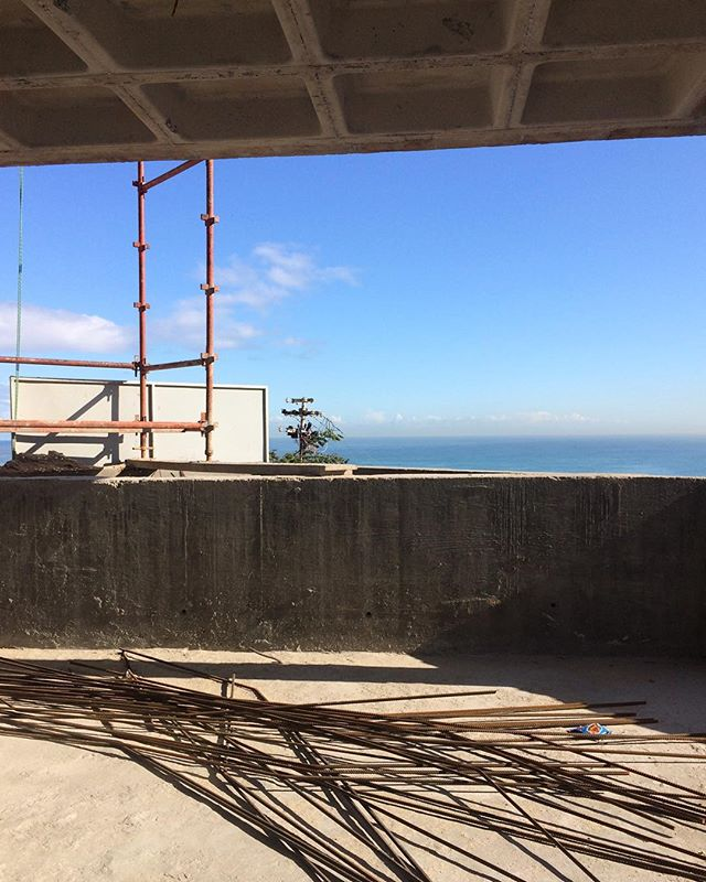 #earthtones @groundfloorprojects #hourscleararchitects #cofferedceiling #seapoint #seaviewproperties #developments #construction #constructionct #ctconstruction