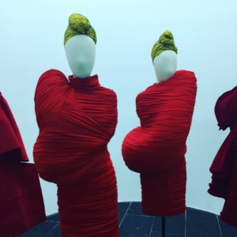 Rei Kawakubo at The Met
