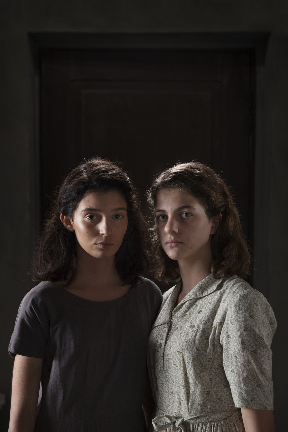 (LEFT) Gaia Girace as Lila. (RIGHT) Margherita Mazzucco as Elena. EDUARDO CASTALDO - HBO.jpg