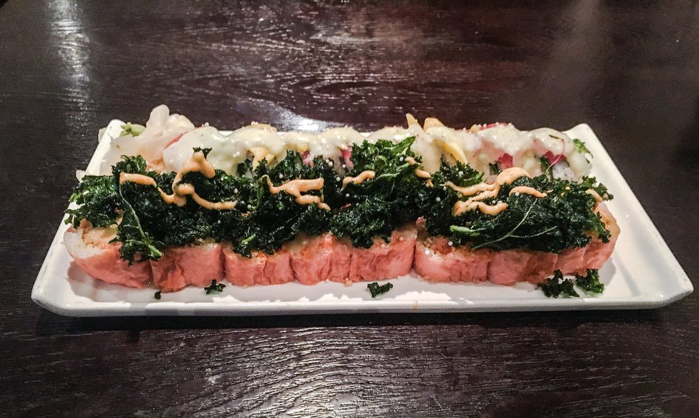 Spicy Kale Tuna Roll