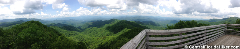 View from Wesser Bald