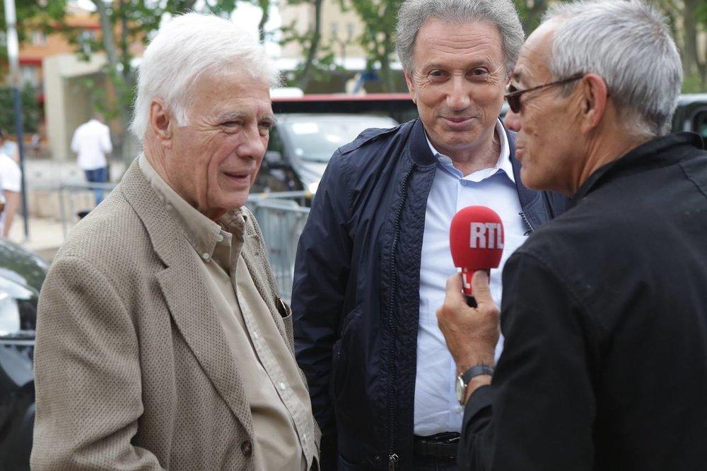 Guy Bedos et Michel Drucker