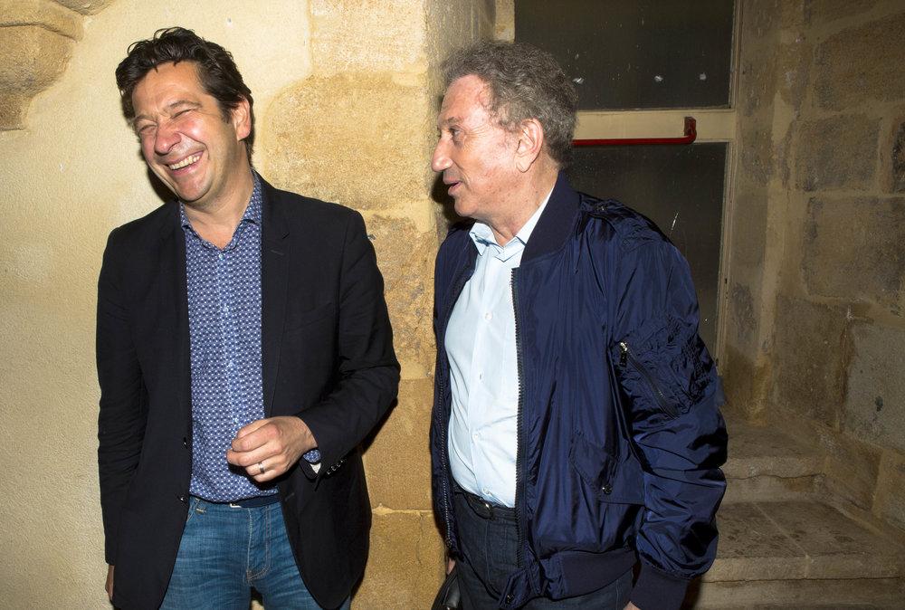 Laurent Gerra et Michel Drucker